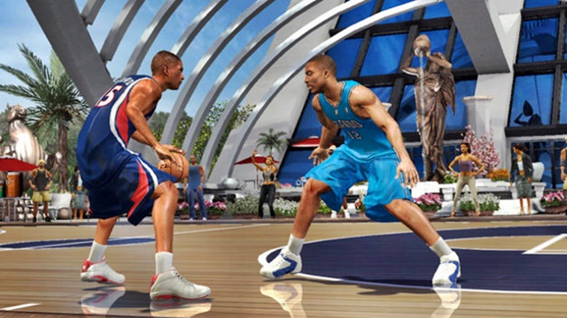 Game Zone: NBA Ballers, Samurai Warriors, Shrek 2