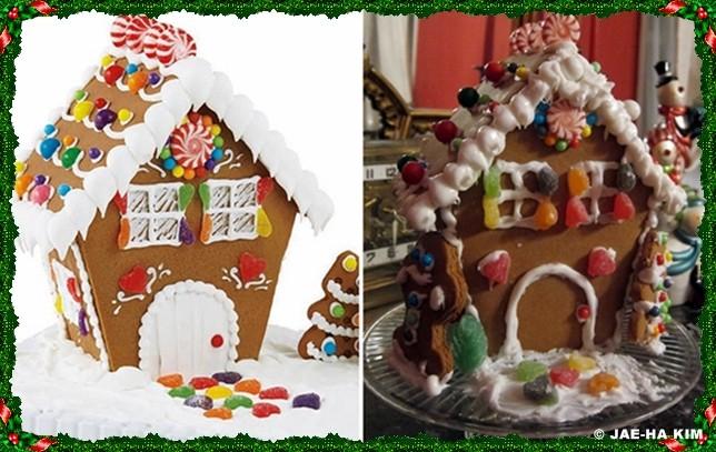 Gingerbread house by Jae-Ha Kim