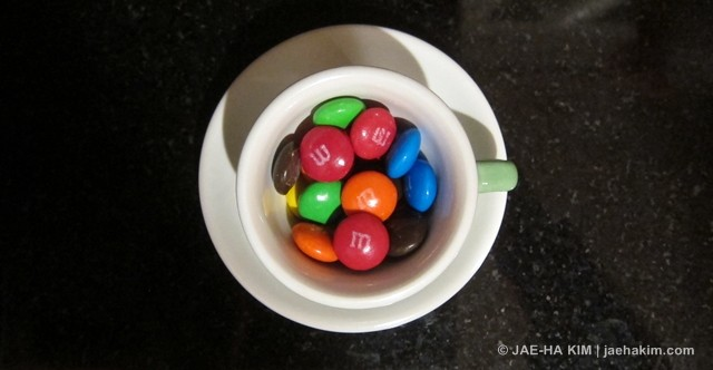 M&Ms by Jae-Ha Kim