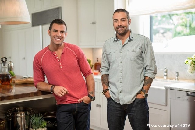 John Colaneri and Anthony Carrino, HGTV hosts and licensed contractors.