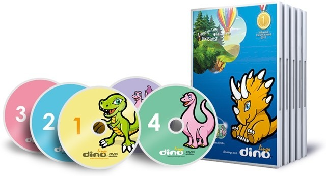 Dino Lingo's language program for children