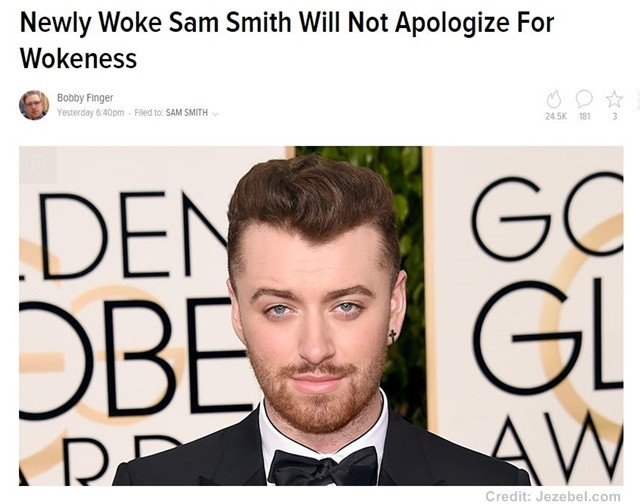 Sam Smith's brush with racism
