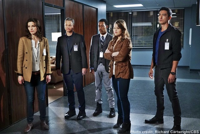 "(Left-right) Clara Seger (Alana De La Garza), Unit Chief Jack Garrett (Gary Sinise), Russ ""Monty"" Montgomery (Tyler James Williams), Mae Jarvis (Annie Funke) and Matt Simmons (Daniel Henney) comprise the International Repsonse Unit, the FBI division at the heart of the upcoming drama series, CRIMINAL MINDS: BEYOND BORDERS, which premieres Wednesday, March 2 (10:00-11:00 PM, ET/PT) on the CBS Television Network. The IRT is tasked with solving crimes and coming to the rescue of Americans who find themselves in danger while abroad. Photo: Richard Cartwright/CBS ©2015 CBS Broadcasting, Inc. All Rights Reserved"